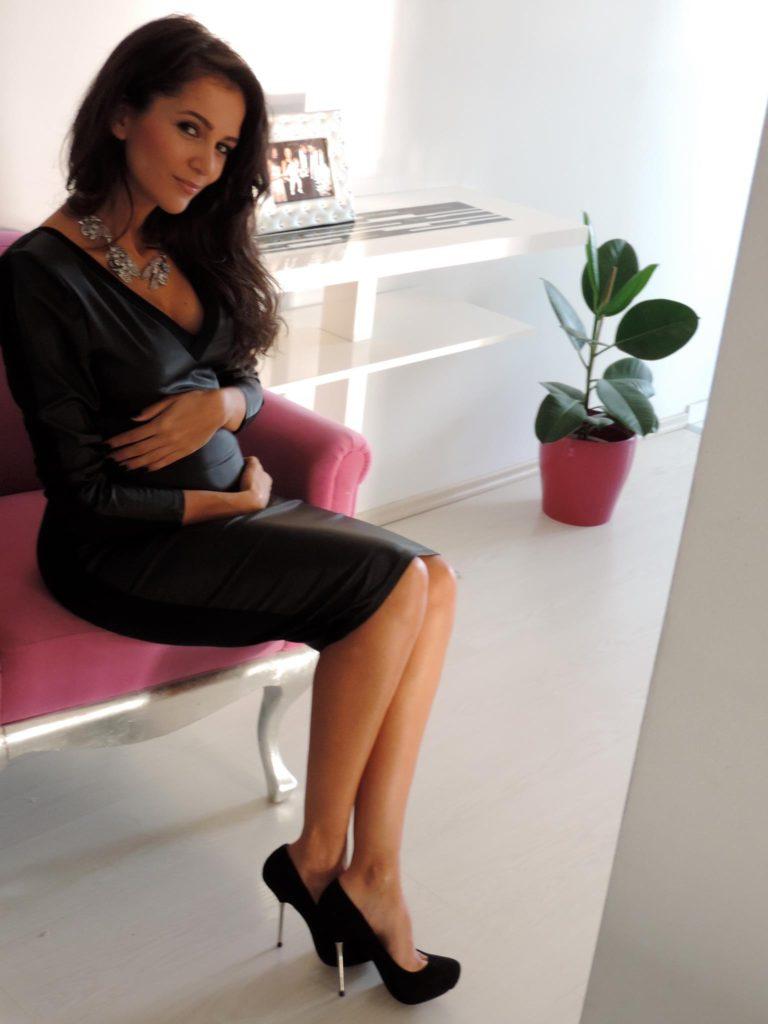 Ruxandra Luca insarcinata 5 luni bebe 2