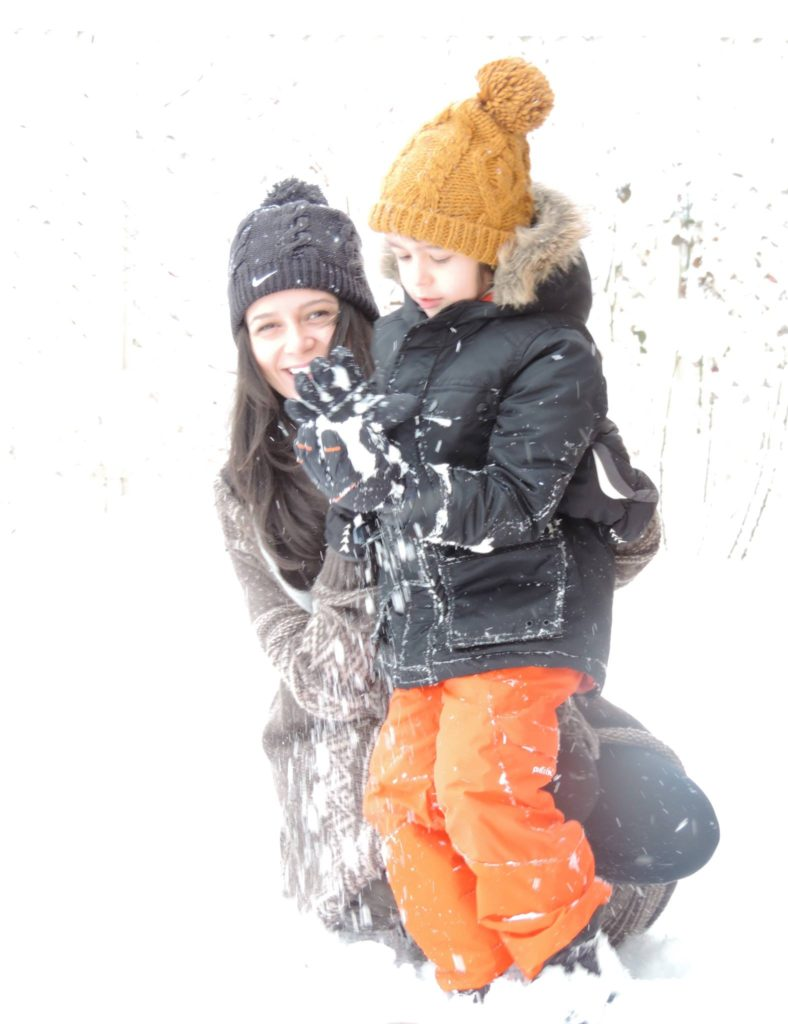 Ruxandra Luca, iarna, zapada