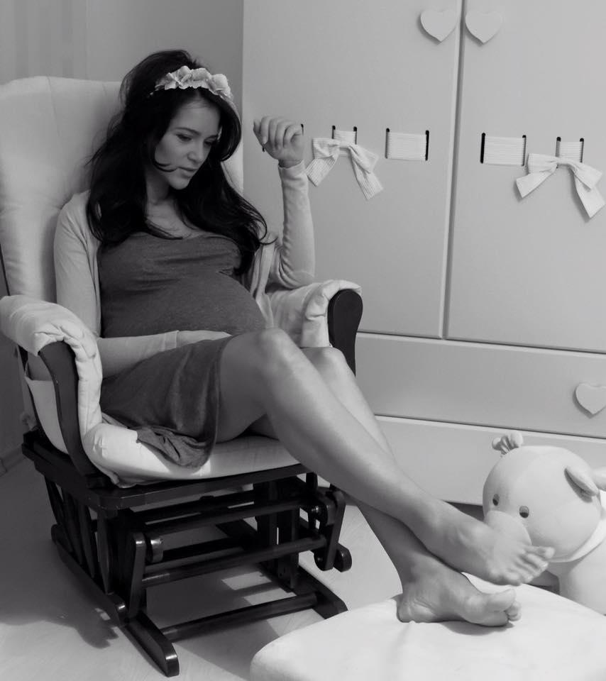 Ruxandra Luca, insarcinata, sarcina, 9 luni