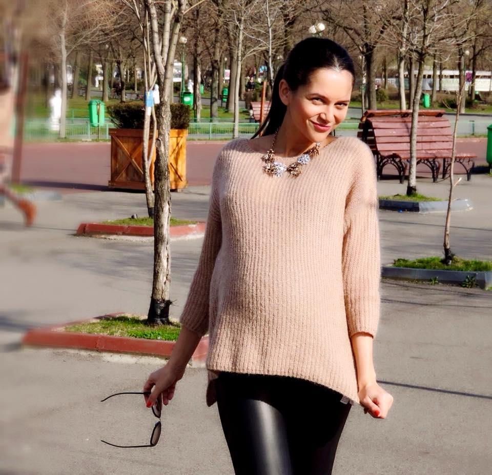 Ruxandra Luca, sarcina, 9 luni