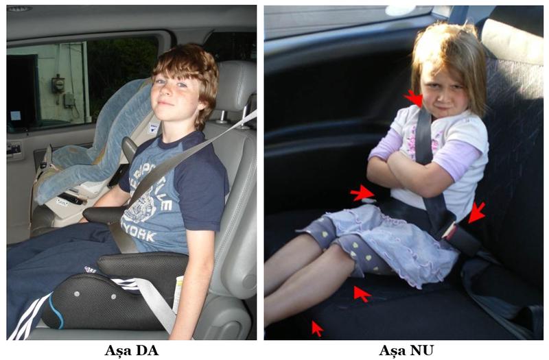 greseli pozitionare copii scaun auto