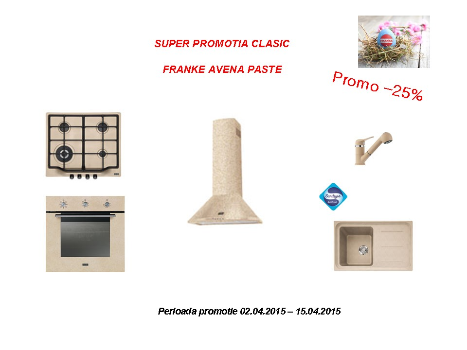 super promotia Franke de Paste