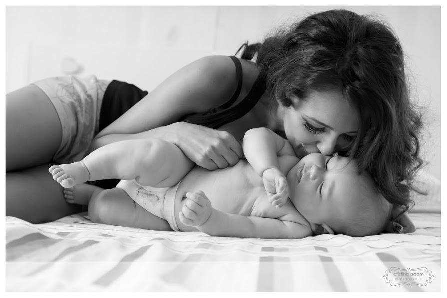Ruxandra Luca, alaptare exclusiva, bebelus