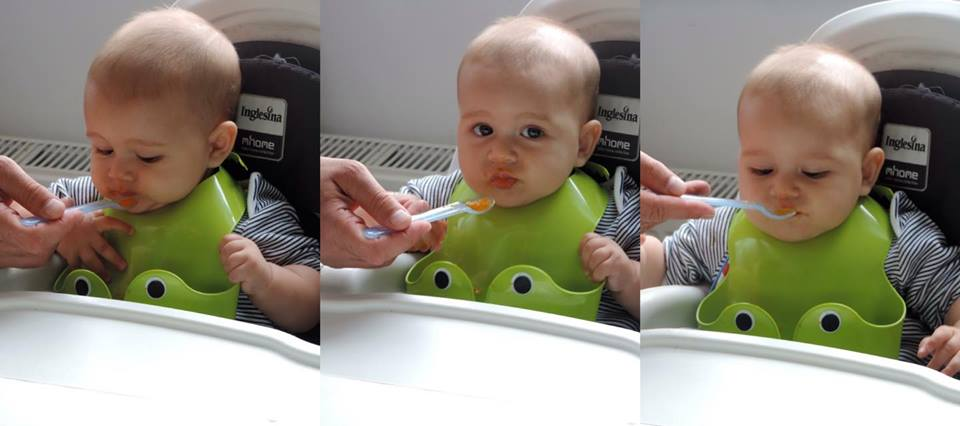 Ruxandra Luca, diversificare hrana bebelus cu legume