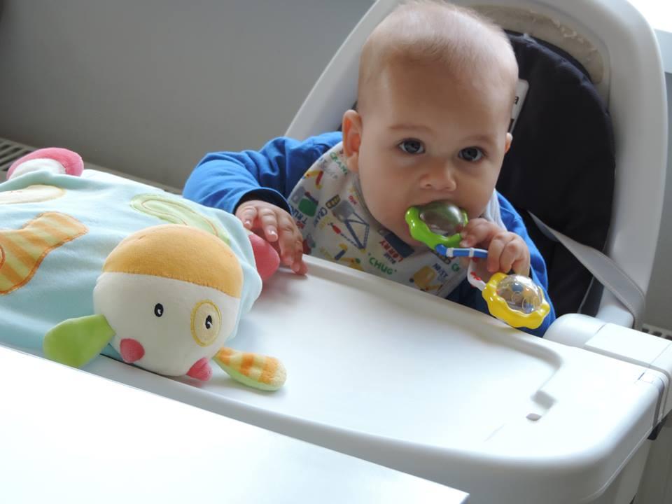 Ruxandra Luca, diversificare hrana bebelus