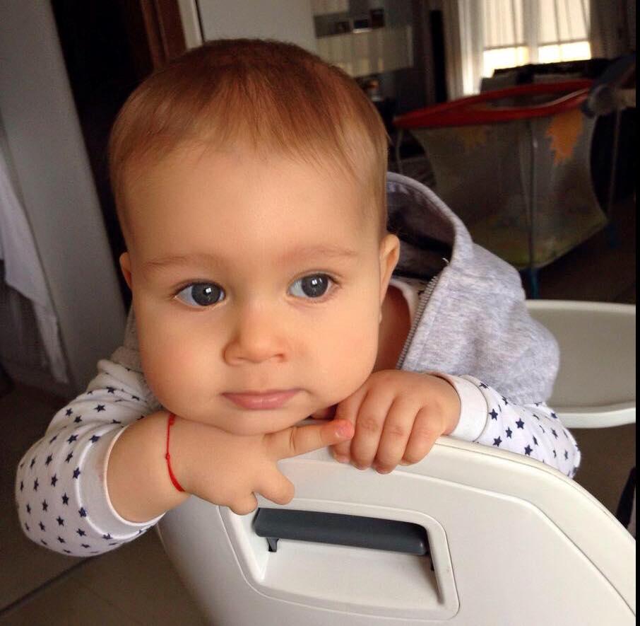 Ruxandra Luca, Aris, bebelus, 10 luni