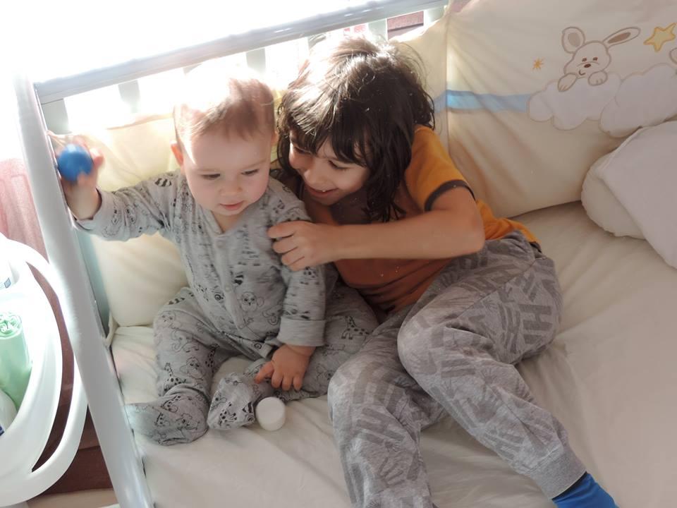 Ruxandra Luca, copii, dinti de lapte
