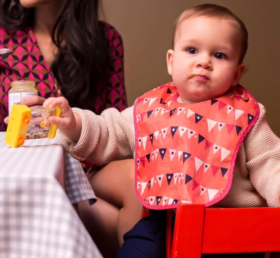 Ruxandra Luca, diversificare, schema meselor bebelusului
