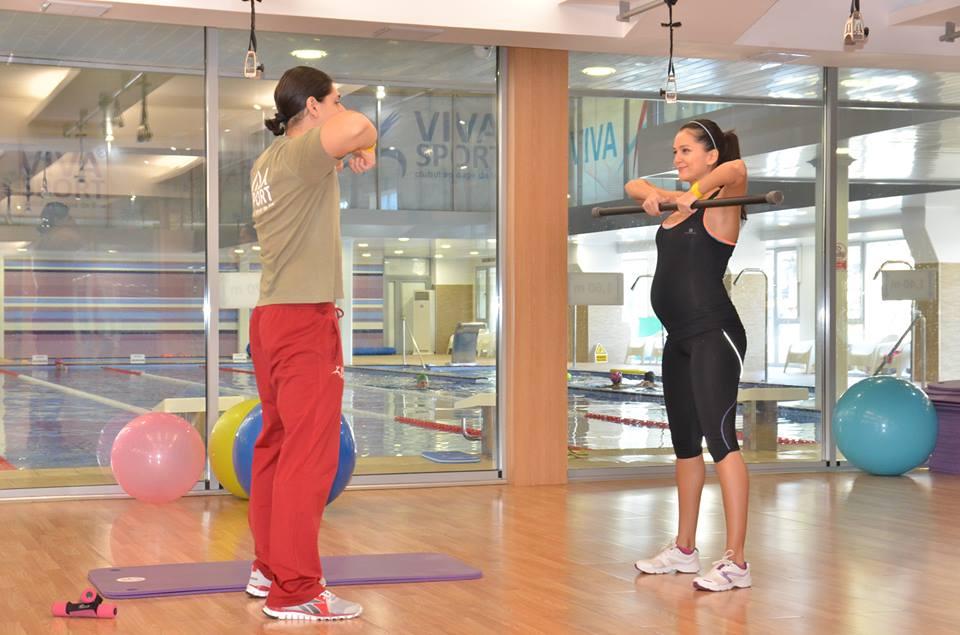 Ruxandra Luca, sport in sarcina, antrenament pentru gravide
