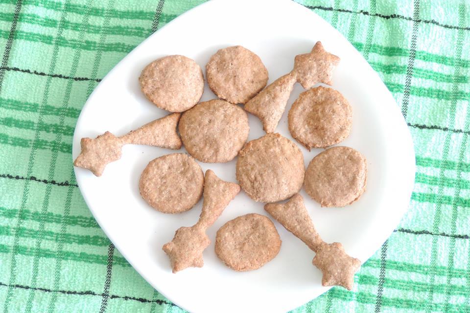 Ruxandra Luca, biscuiti cu cereale pentru bebelusi