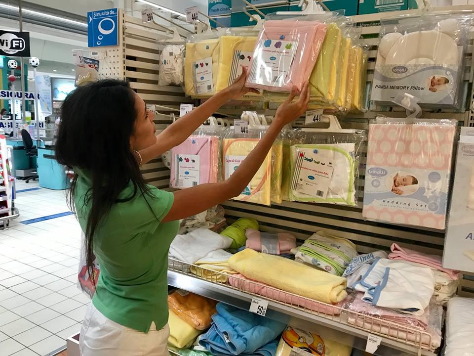carrefour, lista de cumparaturi pentru bebelus