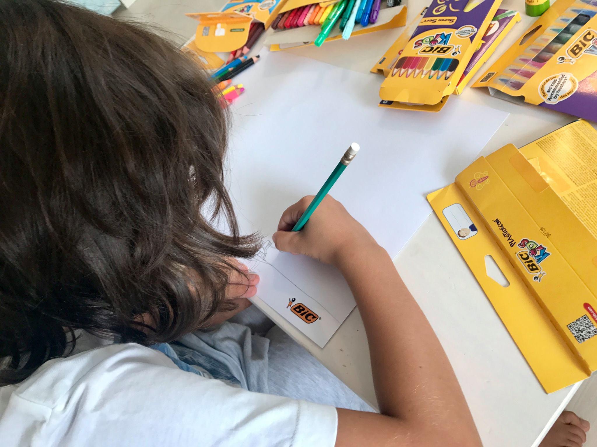 Beneficiile desenatului pentru copii, BIC kids, BIC