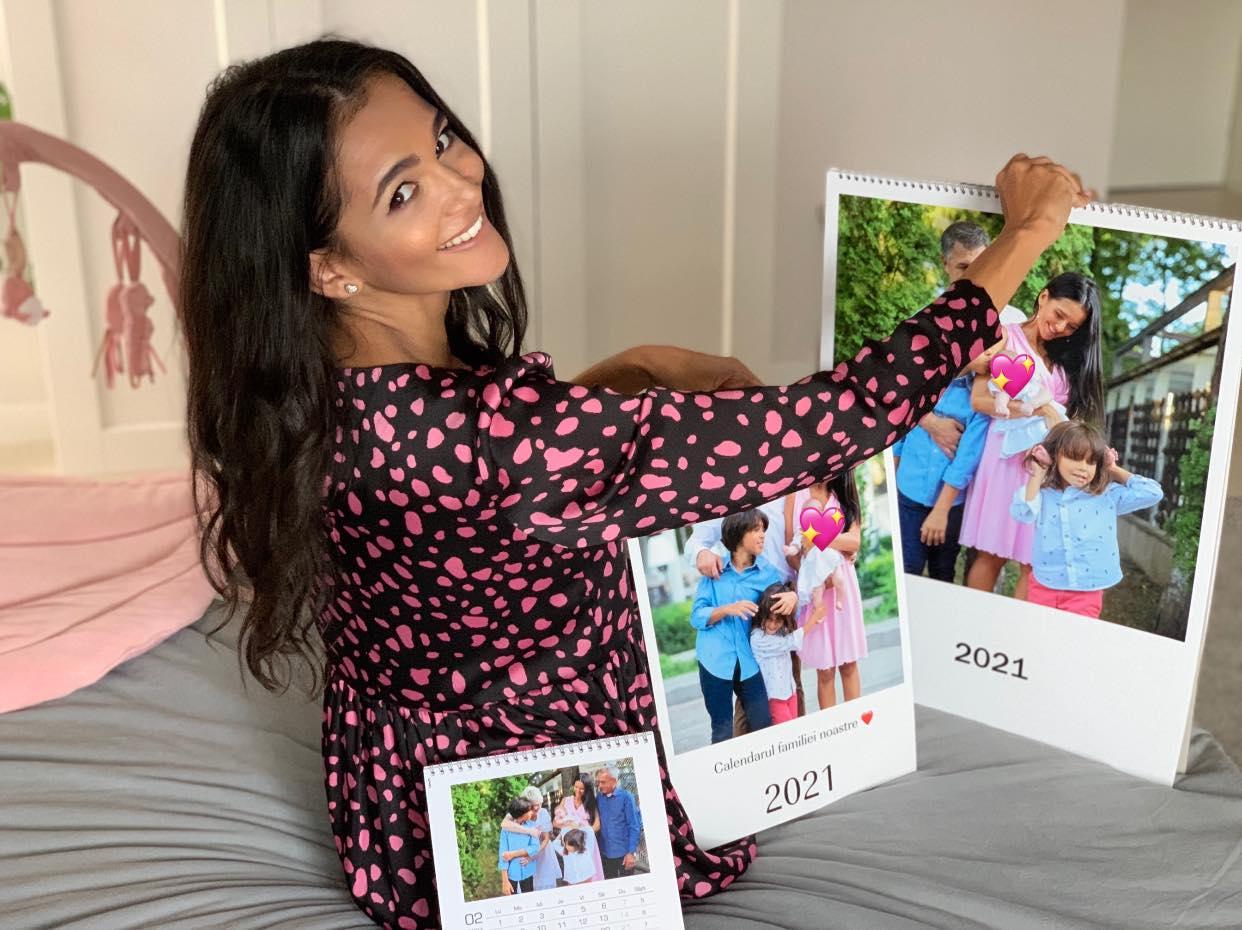 Cum arată CEWE calendarele noastre cu poze de familie
